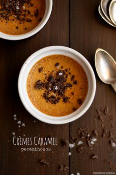 Bocadinhos de Açúcar: Crèmes Caramel