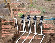 HOMEGROWN Life blogger and Bay Area homesteader Rachel of Dog Island Farm shares how to install drip irrigation in your home garden.data-pin-do= Garden Irrigation System, Water Irrigation, Sprinkler Irrigation, Irrigation Systems, Water Sprinkler, Garden Watering System, Drip System, Urban Farming, Sustainable Farming