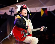 Stephen Colbert plays the guitar at StePhest Colbchella '012.