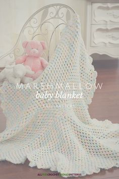 Cute and simple baby blanket pattern