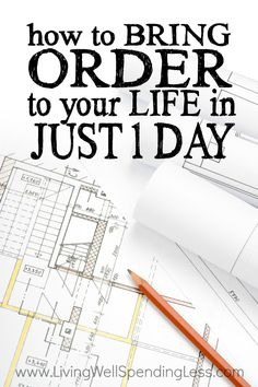 Order to Your Life Vertical