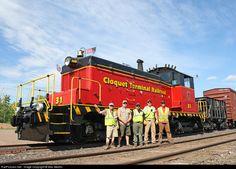 RailPictures.Net Photo: CTRR 31 Cloquet Terminal Railroad EMD SW1 at Cloquet, Minnesota by Max Medlin