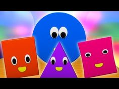 Shape Songs, Canti, Kids Songs, Kids Videos, Nursery Rhymes, Coding, Shapes, Education, Children