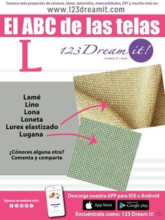 123 Dream it! Textile Fabrics, How To Make Clothes, Sewing Techniques, Industrial Style, Sewing Hacks, Couture, Sewing Patterns, Make It Yourself, Crochet