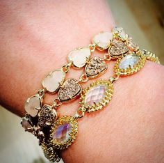 love these kendra scott bracelets!