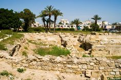 Cyprus Larnaka Kition Archaeological Site