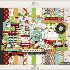 April Featured Kit   Metro   One Little BirdOne Little Bird Designs   Blog