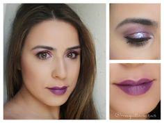 Tutorial Purple Glam. #maquillaje #makeup #purple #tutorial #makeuptutorial