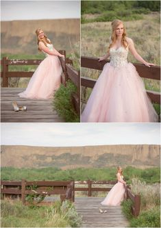 High School Graduation 2015 Highlights | Medicine Hat Photography. Photo ideas for grad student in pink grad dress with crystals for prom. Taken by Woods Photographer (CANADA). #graduation #prom #photography https://amzn.to/2GyKvfZ