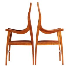 Sculptural High Chairs by Jere Osgood | From a unique collection of antique and modern chairs at https://www.1stdibs.com/furniture/seating/chairs/