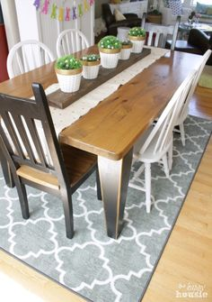 Our New Dining Room Rug {and a Mohawk Rug Giveaway!}
