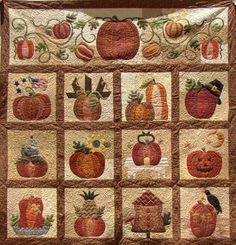 The Great Pumpkin quilt by Briar Rose Designs