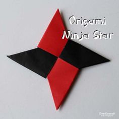 Paper folding Ninja Stars is such a fun activity for kids! Paper folding Ninja Stars is such a fun activity for kids! Origami Tattoo, Origami Owl, Ninja Star Origami, Paper Ninja Stars, Origami Star Box, Origami Dragon, Origami Stars, Paper Stars, Origami Easy