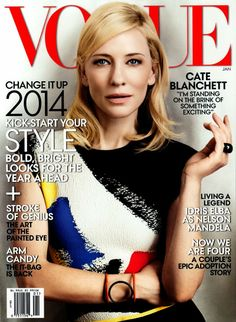 Cate Blanchett for Vogue January 2014 Cover | Photoshoot
