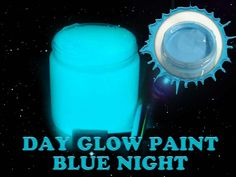 Blue Bright Time Glow-in-the-Dark Paint