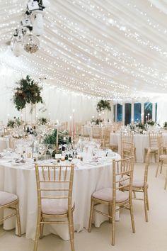 Starry Fairy Lights Marquee Pastel Candlesticks Pedestal Flowers Enchanted Magical Snowy Wedding www Wedding Venue Decorations, Wedding Themes, Wedding Tips, Wedding Planning, Pastel Wedding Theme, Wedding Receptions, Wedding Lighting Decor, Simple Wedding Reception, Modern Wedding Theme
