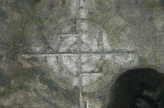 Antarctica Ancient Ruins, Pyramid And A Giant Megalithic Swastika Visible From Space