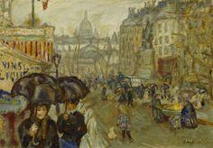 Pierre Bonnard (1867-1947) - Boulevard de Clichy, 1911