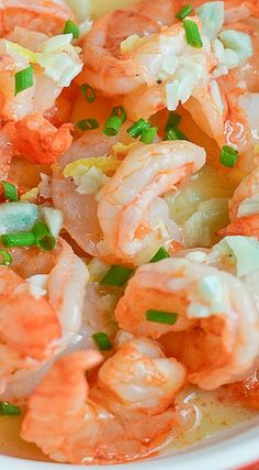 Shrimp with Lemon Garlic Butter Recipe