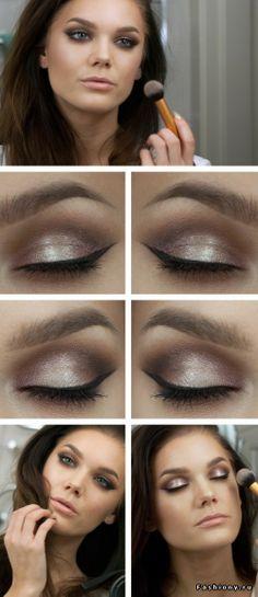Новые макияжи от Linda Hallberg