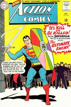The 25 Most Awesome 'Action Comics' Covers of All Time