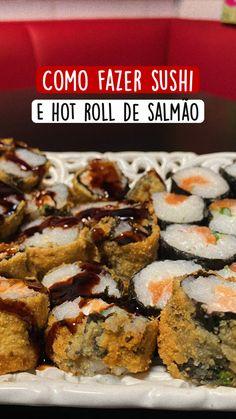 Japanese Salad, Japanese Food, Food Network Recipes, Cooking Recipes, Healthy Snacks, Healthy Recipes, Good Food, Yummy Food, Sushi Art