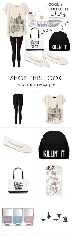 """Comfortable"" by dream-a-wish ❤ liked on Polyvore featuring Miss Selfridge, Banana Republic, Summit by White Mountain, Casetify, Nails Inc., Jayson Home and Seoul Little"