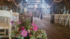 Ceremony Happily Ever After, Barn, Country, Plants, Wedding, Valentines Day Weddings, Converted Barn, Rural Area, Country Music