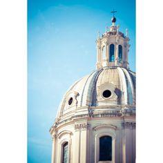 Italië fotografie, reizen foto, Rome, klassieke architectuur,... ($37) ❤ liked on Polyvore featuring home and home decor