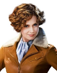 Playing Amelia Earhart in the 2nd Night at the Museum. This was the 1st movie movie I ever saw her in and I couldn't stand her! This character is annoying! but once I saw her other movies, I was hooked! (: