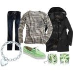 North Face & Sperry - Polyvore