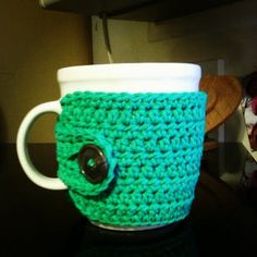 Coffee Cup Cozy that Samantha Toomey can make! Lol :)