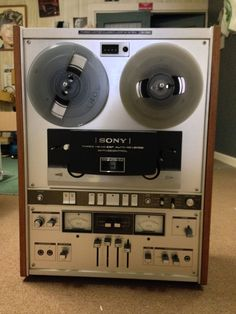 Vintage RARE Sony TC-780 Reel to Reel Player  #Sony