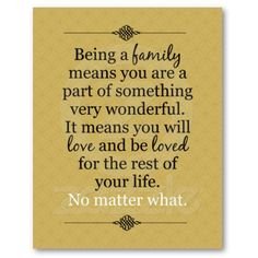 family - I'd like to put this in the middle of all our family pics on the picture wall I'm working on...