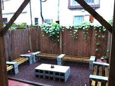 15 genialnych pomysłów na wykorzystanie betonowych pustaków w swoim domu i ogrodzie.