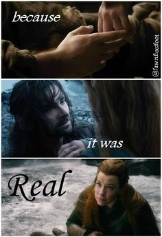 Honestly, I only tolerated Tauriel and Kili before BOTFA--but I like them so much better now.