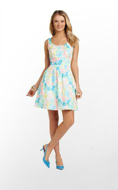 Posey Dress in Resort White Spring Fling $228 (w/o 3/2/13) #lillypulitzer #fashion #style