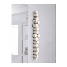 SÖDERSVIK LED wall lamp - IKEA- would be awesome around a vanity table..,reminds me of a pearl necklace
