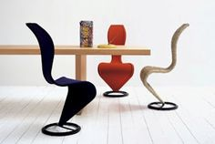 Cappellini S chair by Tom Dixon