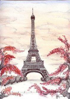 Gambar Wallpaper Hp Keren Untuk Anak Perempuan Di 2020 Menara Eiffel Kartu Bunga Seni