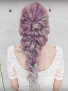 Mermaid braid - confessions of a hairstylist