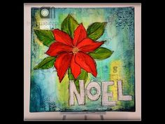 Mixed Media Monday - Noel - Tracy Weinzapfel Studios #decoartprojects #decoartmedia #mixedmedia