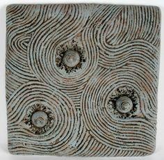 relief ceramic tiles   260: Christopher Gryder, Ceramic Relief Tile : Lot 260