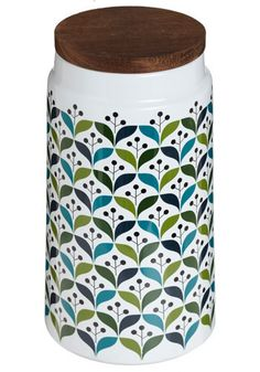 Love these kitchen canisters