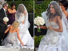 Rebecca Twigley e Chris Judd casaram-se na Austrália em 2010. O casamento da modelo e do jogador rendeu muitas matérias (imagino que sejam bem famosos por