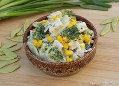 Sałatka makaronowa z brokułem Gnocchi, Acai Bowl, Serving Bowls, Cooking Recipes, Breakfast, Tableware, Kitchen, Food, Acai Berry Bowl