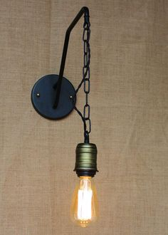 Christmas Retro Lamps Hanging Chain Edison Bulb Wall Sconce Lamps  Personalized Christmas Gifts Christmas Lighting Holiday Lights