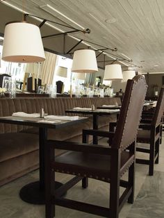 Great Banquette Seating! McAlpine Booth & Ferrier
