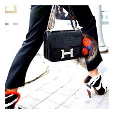 hermes clutch bag - BEAUTY | TheyAllHateUs | Street Style | Pinterest | Fendi, Hermes ...