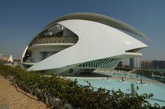 La Ciudad de Artes y Ciencias - Valencia, España